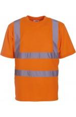 T-Shirt Manches Courtes Haute Visibilité à Personnaliser
