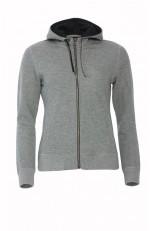 Sweat-Shirt Zippé Capuche Classique Femme Personnalisable
