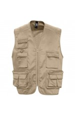 Gilet Reporter Multipoches Personnalisable