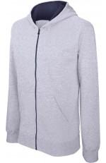 Sweat-shirt zippé à capuche enfant personnalisable