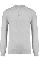 Pullover premium col boutonné personnalisable pour homme