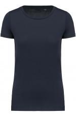 T-shirt Supima col rond à manches courtes pour femme personnalisable