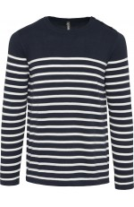 Pull marin pour homme personnalisable