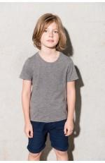 T-shirt en coton BIO à manches courtes pour enfant personnalisable
