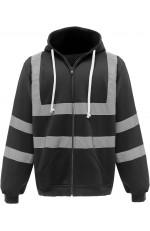 Sweat-shirt zippé à capuche de sécurité personnalisable
