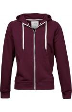 Sweat à capuche urban zip hoodie pour femme personnalisable