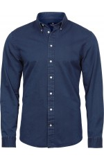 Chemise casual twill pour homme personnalisable