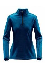 Pullover thermal zippé pour femme personnalisable