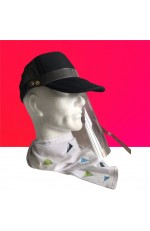 Casquette anti-projections personnalisable