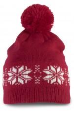 Bonnet tricoté Noel