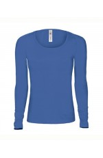 Tee shirt manches longues large col