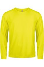 T shirt manches longues sport à personnaliser