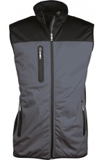 Bodywarmer Softshell Tricolore Homme à Personnaliser