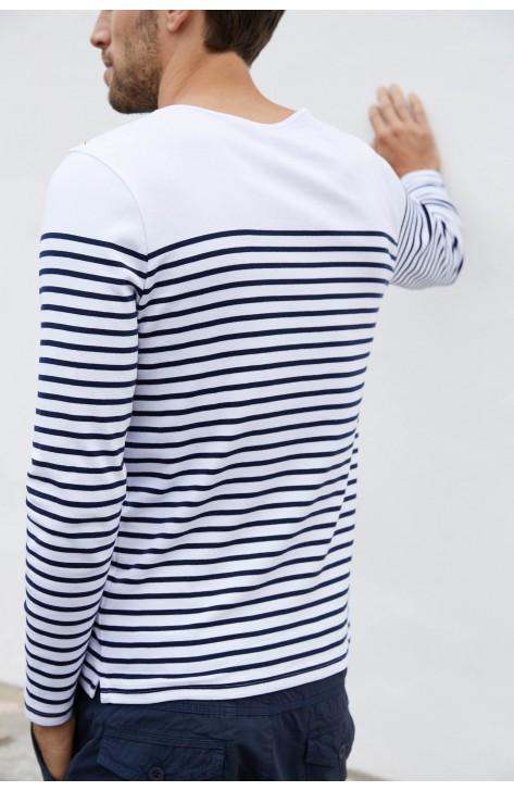 T shirt Marinière Manches Longues Homme personnalisable