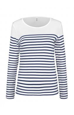 293010e57db T-shirt Marinière Manches Longues Femme personnalisable ...