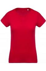 T-Shirt Coton Bio Col Rond Femme Personnalisable