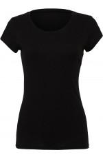 T-Shirt Femme Col Rond Coupe Longue Personnalisable