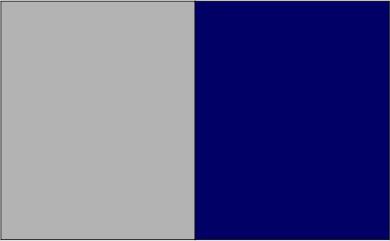 Gris oxford / bleu marine