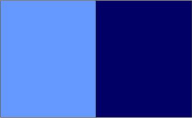 Coloris bleu royal / bleu marine