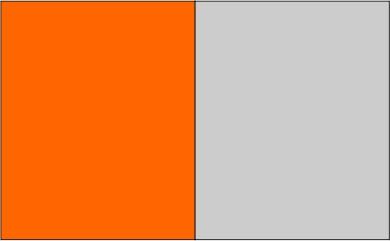 Orange / gris