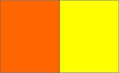 Orange / jaune