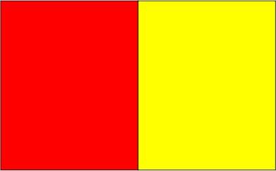 Rouge / jaune