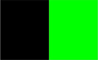 Noir / lime