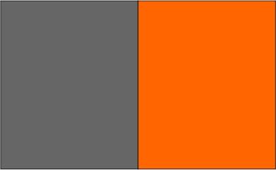 Gris / orange