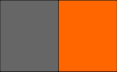 Anthracite / orange