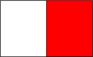 Blanc / rouge