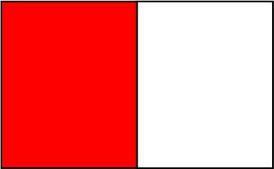 Rouge / blanc