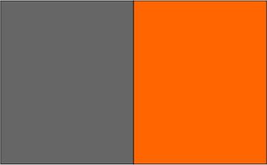 Gris anthracite / orange fluo