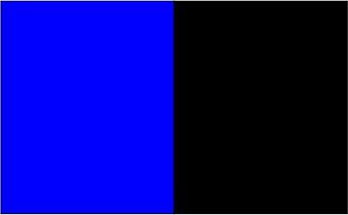 Bleu royal / noir