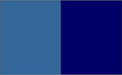Bleu acier / bleu marine