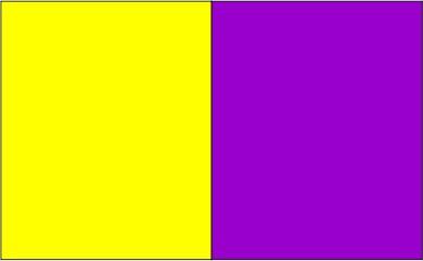 Jaune /  violet