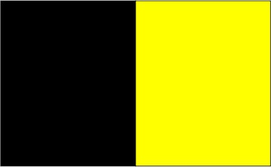 Noir / jaune